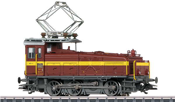 Marklin 36353 - Dgtl PTT CH cl Ee 3/3 Halbschuh Electric Locomotive, Era IV
