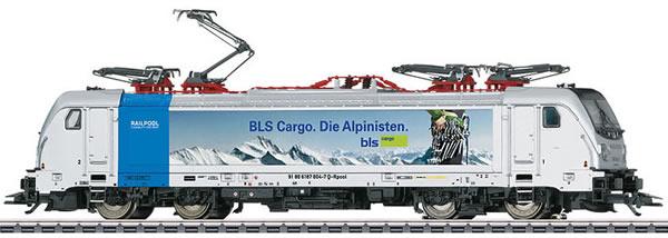 Marklin 36631 - Swiss Electric Locomotive Cargo Class 187.0 of the BLS (Sound Decoder)
