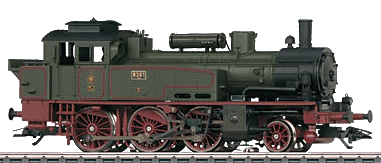 Marklin 36741 - German Steam Locomotive Class T12 of the K.P.E.V.