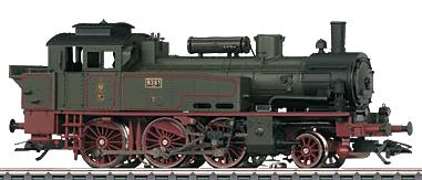Marklin 36741 - German Steam Locomotive Class T12 of the K.P.E.V.