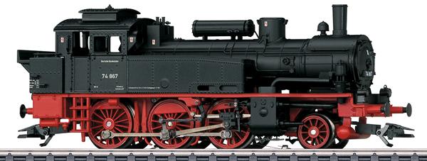 Marklin 36746 - German Steam Locomotive BR 74 of the DB  (Exclusive MHI Model)