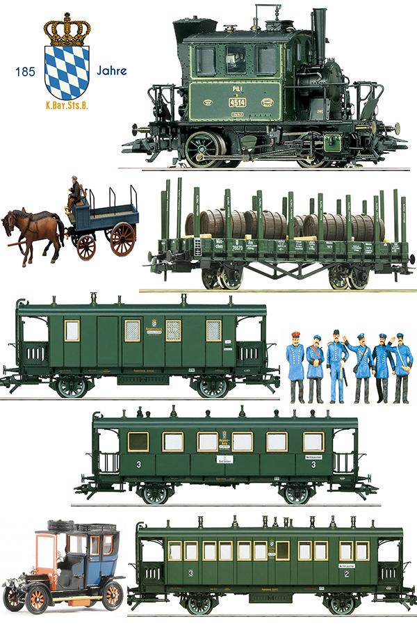 Marklin 368671 - 1900s  Bavarian Local Branch Line Set