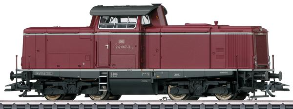 Marklin 37009 - Dgtl DB cl 212 Diesel Locomotive, Era IV
