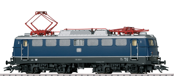 Marklin 37108 - German Electric Locomotive Class 110.1 of the DB (Sound)