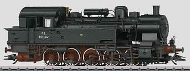 Marklin 37164 - Italian Steam Locomotive Class 897 of the FS (DIGITAL SOUND DECODER)