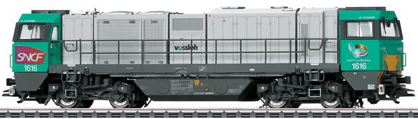 Marklin 37209 - Dgtl SNCF cl G 2000 BB Vossloh Diesel Locomotive, Era VI