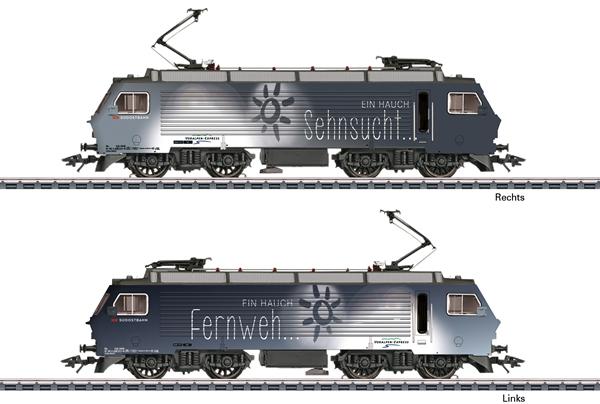 Marklin 37301 - Swiss Electric Locomotive Class Re 4/4 of the SOB (Sound)