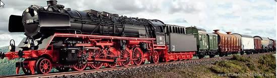 Marklin 37455 - Steam Locomotive BR 45 of the DB (Sound)