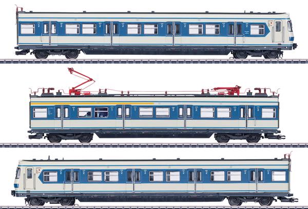 Marklin 37508 - German S-Bahn Powered Rail Car Train Class 420 of the DB (Sound)