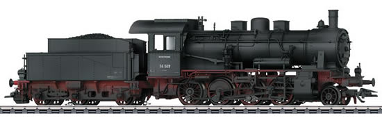 Marklin 37516 - German Freight Train Steam Locomotive BR 56.2-8 of the DRG (Sound Decoder)