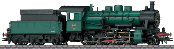 Marklin 37517 - Dgtl SNCB cl 82 Steam Freight Locomotive, Era III