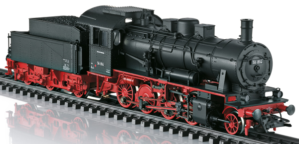 Marklin 37518 - German Steam Locomotive Class 56 of the DB (Sound)