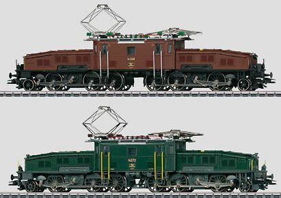 Z Scale Crocodile Marklin 37565 - Dgtl S...