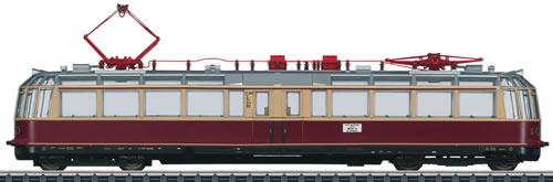 Marklin 37581 - Digital cl ET 91 Glass Train Powered Observation Rail Car (L)