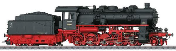 Marklin 37587 - German Freight Steam Locomotive Class 58.10-21 of the DRG (Sound Decoder)