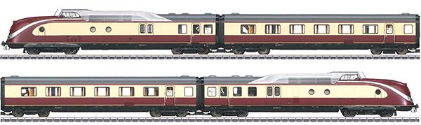 Marklin 37607 - Digital DB cl 601 TEE Diesel Powered Rail Car Train (L)