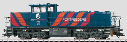 Marklin 37626 - Dgtl NS Era V PORTFEEDERS Diesel Locomotive (L)
