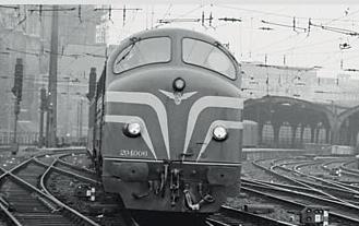 Marklin 37671 - Countries Ed. 150 Years of Märklin Dgtl SNCB/NMBS Cl 204 Diesel Loco (L)