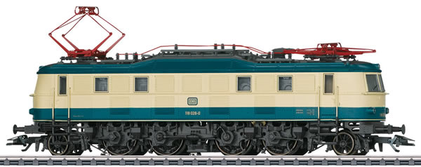 Marklin 37685 - German Electric Locomotive Class 118 of the DB (Sound Decoder) - MHI Exclusive