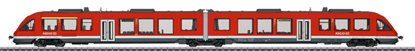 Marklin 37716 - German Diesel Powered Commuter Rail Car LINT 41 of the DB AG