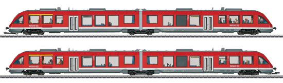 Marklin 37719 - German Transport Diesel Railcar BR 648.2 LINT of the DB AG (Sound Decoder)