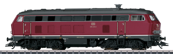 Marklin 37765 - German Diesel Locomotive BR 218 of the DB
