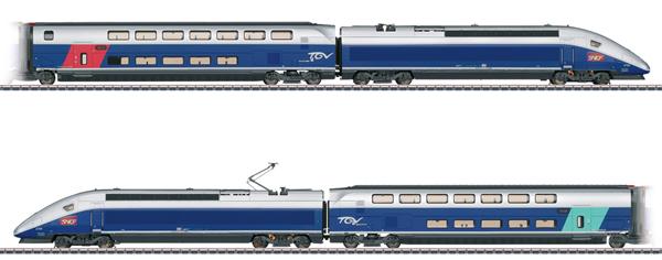 Marklin 37793 - French TGV Euroduplex High-Speed Train of the SNCF (Sound)