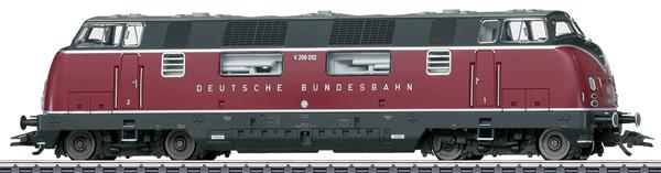 Marklin 37806 - Dgtl DB cl V 200.0 Diesel Locomotive, Era III