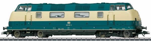 Marklin 37807 - German Diesel Locomotive Class V 200.0 of the DB (Sound) - MHI Exclusiv