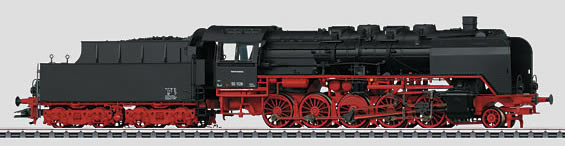 Marklin 37811 - Dgtl DB cl 50 Freight Steam Locomotive with Tender without Sound