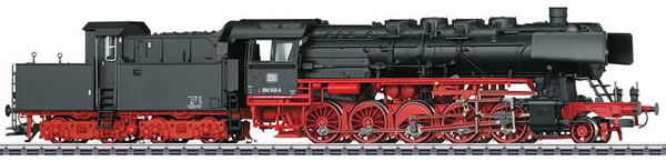 Marklin 37836 - German Steam Freight Locomotive BR 050 with Cabin Tender of the DB  (Sound Decoder)