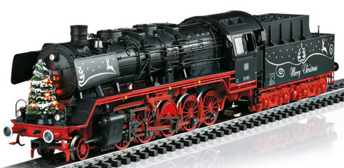 Marklin 37838 - German Christmas Steam Locomotive Class 50 with a Tender of the DB (Sound Decoder)