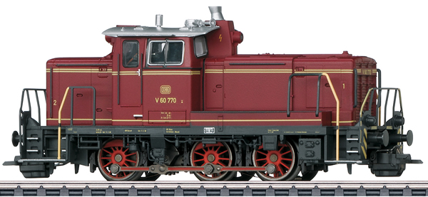 Marklin 37861 - Dgtl DB cl V 60 Diesel Switch Engine, Era III