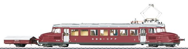 Marklin 37869 - Swiss Powered Rail Car Class RCe 2/4 of the SBB (Sound)