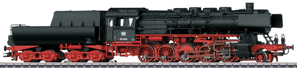 Marklin 37898 - Class 50 Steam Freight Locomotive with a Tub-Style Tender