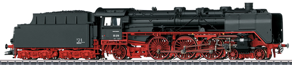 Marklin 37949 - Dgtl DB cl 03 Passenger Steam Locomotive w/Tender, Era IIIa
