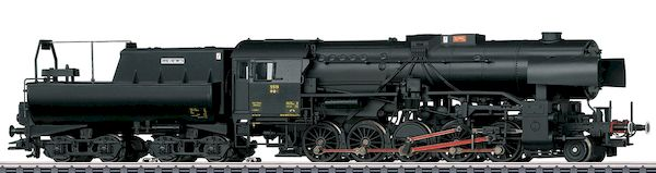 Marklin 39046 - Dgtl CFL Heavy Steam Freight Locomotive w/Tub-Style Tender, Era VI