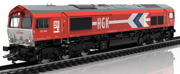 Marklin 39060 - German Diesel Locomotive EMD Serie 66 of the HGK
