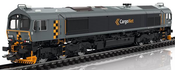 Marklin 39063 - Norwegian Diesel Locomotive Class 66 of the CargoNet