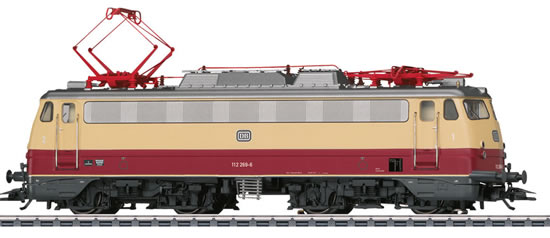 Marklin 39112 - German Electric Locomotive BR 112 of the DB (Sound Decoder)