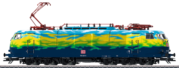 Marklin 39171 - German Electric Locomotive Class BR 103 of the DB (Exclusive Touristik Livery)