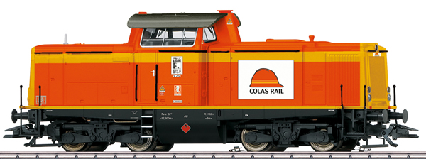 Marklin 39214 - French Diesel Locomotive Class 212 Colas Rail (Sound)
