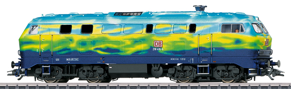 Marklin 39218 - Dgtl DB AG cl 218 Touristik Diesel Locomotive, Era V