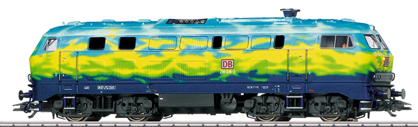 Marklin 39219 - Dgtl DB AG cl 218 Touristik Diesel Locomotive, Era V