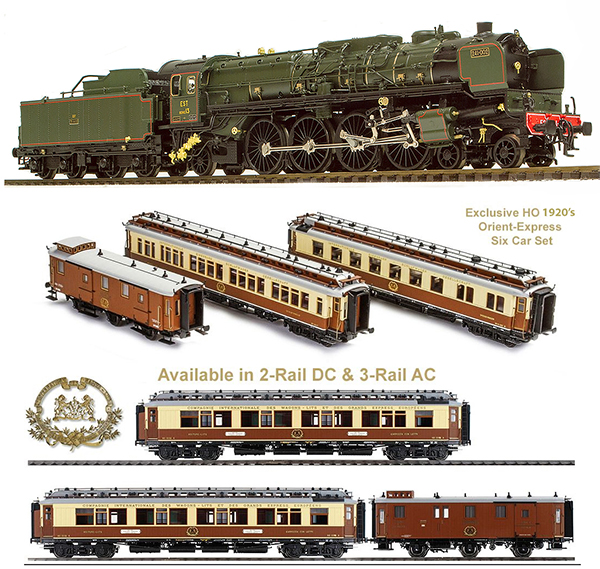 Marklin 392431 - Exclusive Orient Express Set from the 1920s &1930s