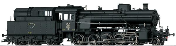 Marklin 39251 - Dgtl SBB cl C 5/6 Elephant Steam Locomotive w/Tender, Era III