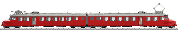 Marklin 39260 - Swiss Double Powered Rail Car Class RAe 4/8 of the SBB (Sound)