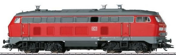 Marklin 39272 - German Diesel Locomotive BR 217 of the DB AG (Sound)