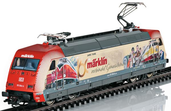 Marklin 39378 - German Electric Locomotive BR 101 Advertising design 160 Years Märklin of the DB AG (Sound)
