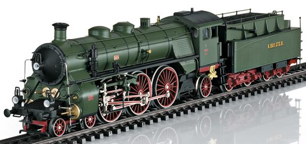 Marklin 39436 - Royal Bavarian Steam Locomotive Class S 3/6 Hochhaxige / High Stepper of the K.Bay.St.B